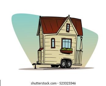 Mobile Trailer House