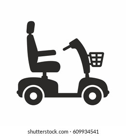 Mobility scooter icon