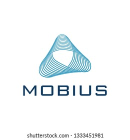 Mobius strip logo template