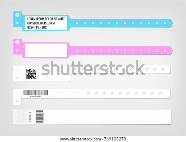 Image Vectorielle De Stock De Mappage De Differents Modeles De Bracelet 769105273