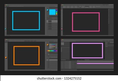 mockup softwares - Image, video, vector and  layout for print editing