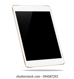 mockup tablet like in ipades style isolated on white vector design