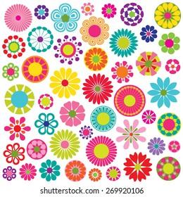 mod flower shapes