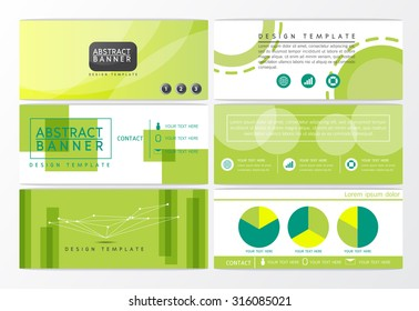 Modern Abstract background banner design, business template-Vector illustration