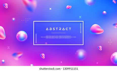 Modern abstract background with mixing blue, purple, pink color can use for posters, template, website header background, mobile screen wallpaper, web banner, backdrop, and others.
