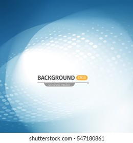 modern abstract background with waves