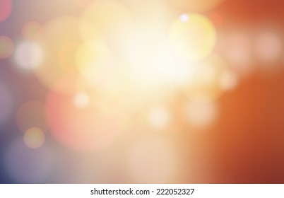 Modern abstract blur circular bokeh light beautiful backgrounds.  Elements for your graphic design, banner, website or presentation. Vector illustration