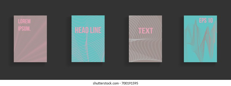 Modern abstract cover. Bright gradient composition. Future futuristic template for banner design, poster, notebook, book.Eps10 vector.