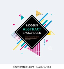 Modern abstract geometric pattern background design. EPS 10 Vector Use for cover, poster, template, brochure, decorated and flyer.