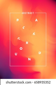 Modern abstract gradient background, bright colors, vector illustration