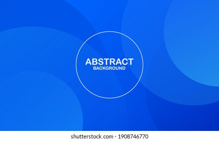 Modern abstract gradient wavy geometric background. Dynamic shapes composition. Eps10 vector
