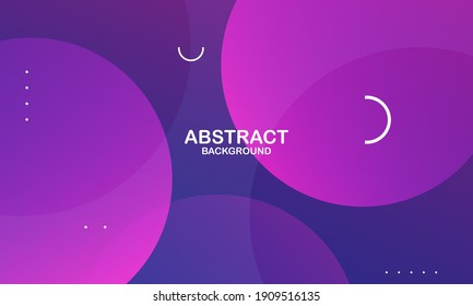 Modern abstract gradient wavy geometric background. Dynamic shapes composition. Vector illustration