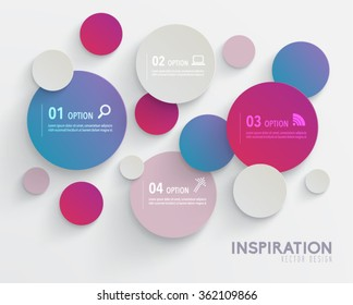 Modern Abstract Graphic Vector Design