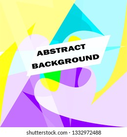 MODERN ABSTRACT LAYOUT, PUNK BACKGROUND TEMPLATE ART DESIGN