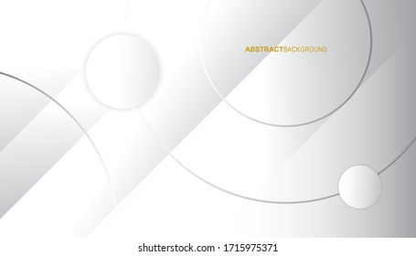 Modern abstract light background vector. Elegant circle shape design. Gradient color. Eps10 vector.