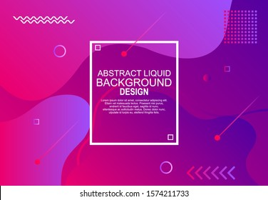 modern abstract liquid poster design, abstract liquid design for web landing poster banner mobile