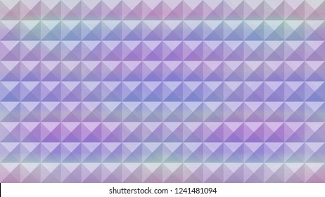 Modern abstract pyramid triangular holographic texture pattern vector background. Concept pop art. Minimal surrealism background.