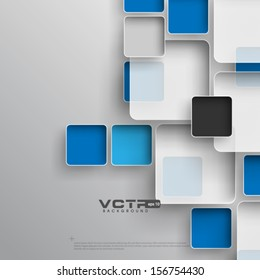 Modern Abstract Squares Background
