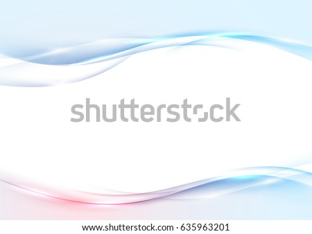 modern abstract swoosh wave border red stock vector royalty free