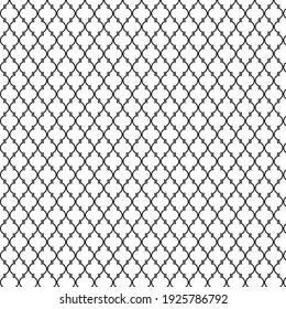 Modern Abstract Vector Geometric Pattern Template. Stock Illustration.