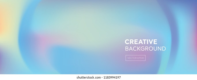 Modern abstract vivid gradient mixed pastel colorful fluid banner background