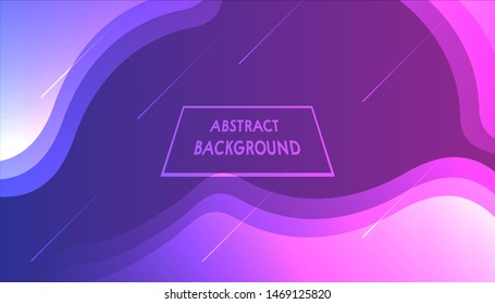 Modern Abstract Website Gradient Background HD Vector.