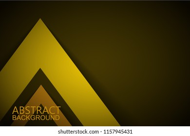 Modern abstract yellow background