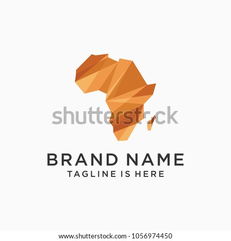 modern african logo template designs vector stock vector royalty