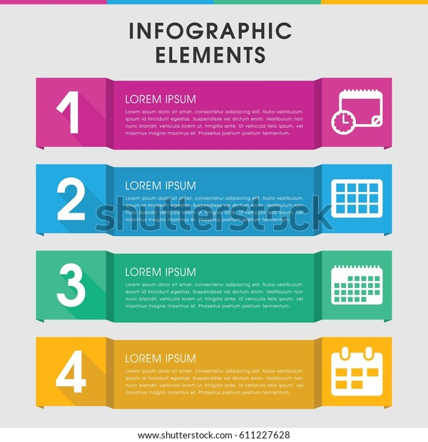 Modern Appointment Infographic Template Infographic Design Stock
