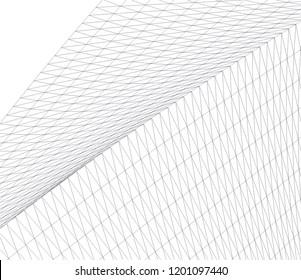 Modern architecture. Geometric background