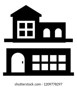 Modern architecture superstore icon image