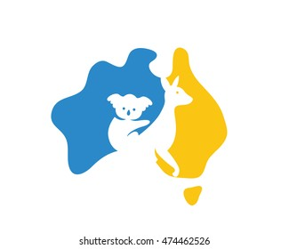 Map Of Australia Logo.Australia Logo Images Stock Photos Vectors Shutterstock