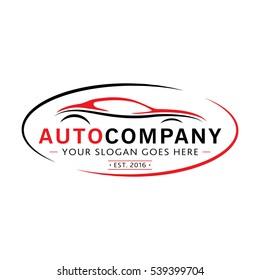 Modern Auto Company Logo Design. Vector and illustration.