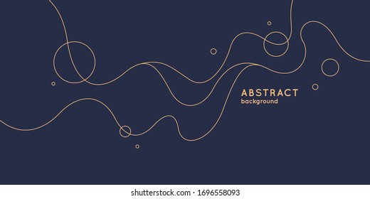 Modern background with abstract elements and dynamic shapes. Vector illustration. Template for design and creative ideas.