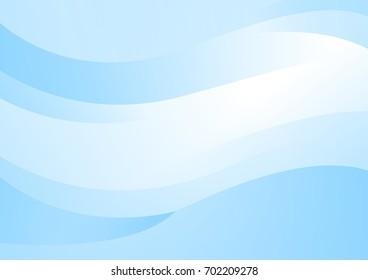 Modern Background, Blue, Abstrack, Wave