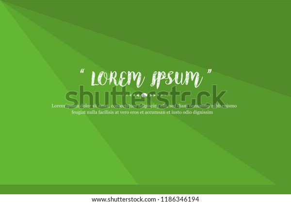 Modern Background Design Green Color Abstract Stock Vector