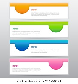 The Modern Banner Template, Vector Work