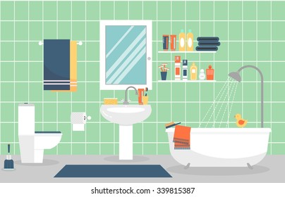 Bathroom Illustration Images Stock Photos Amp Vectors