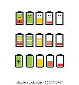 Modern battery logo silhouette editable EPS vector files. For electricity storage, electronic product, industry and factory, power bank or saver. Vintage hipster. Apply to web site, mobile phone apps