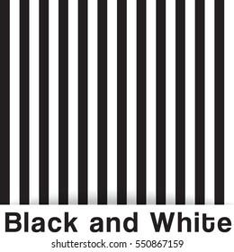 Modern Black and White Seamless Pattern. Vector Illustration