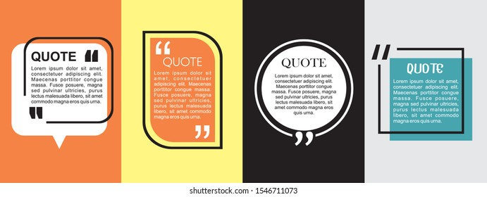 Modern block quote and pull quote design elements