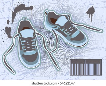 modern blue shoes for you.
