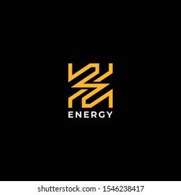 Modern and bold logo design of lighting bolt and letter Z - EPS10 - Vector.