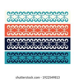 modern border ornament vector design