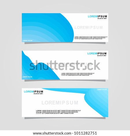 modern business banner layout flyers design stock vector royalty