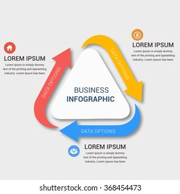 Modern business banner. Vector illustration. can be used for workflow layout, diagram, number options, step up options, web design, infographics.