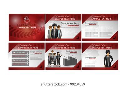 modern business brochure design 2