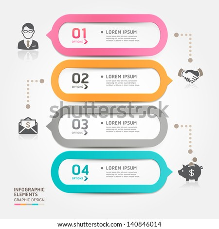 modern business bubble speech template style stock vector royalty