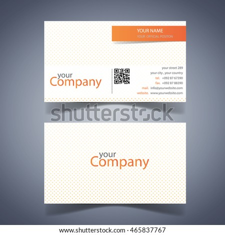 Modern business card template well design stock vector royalty free modern business card template well design cheaphphosting Choice Image