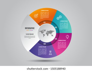 Modern Business Infographic For Presentation and Business Needed.